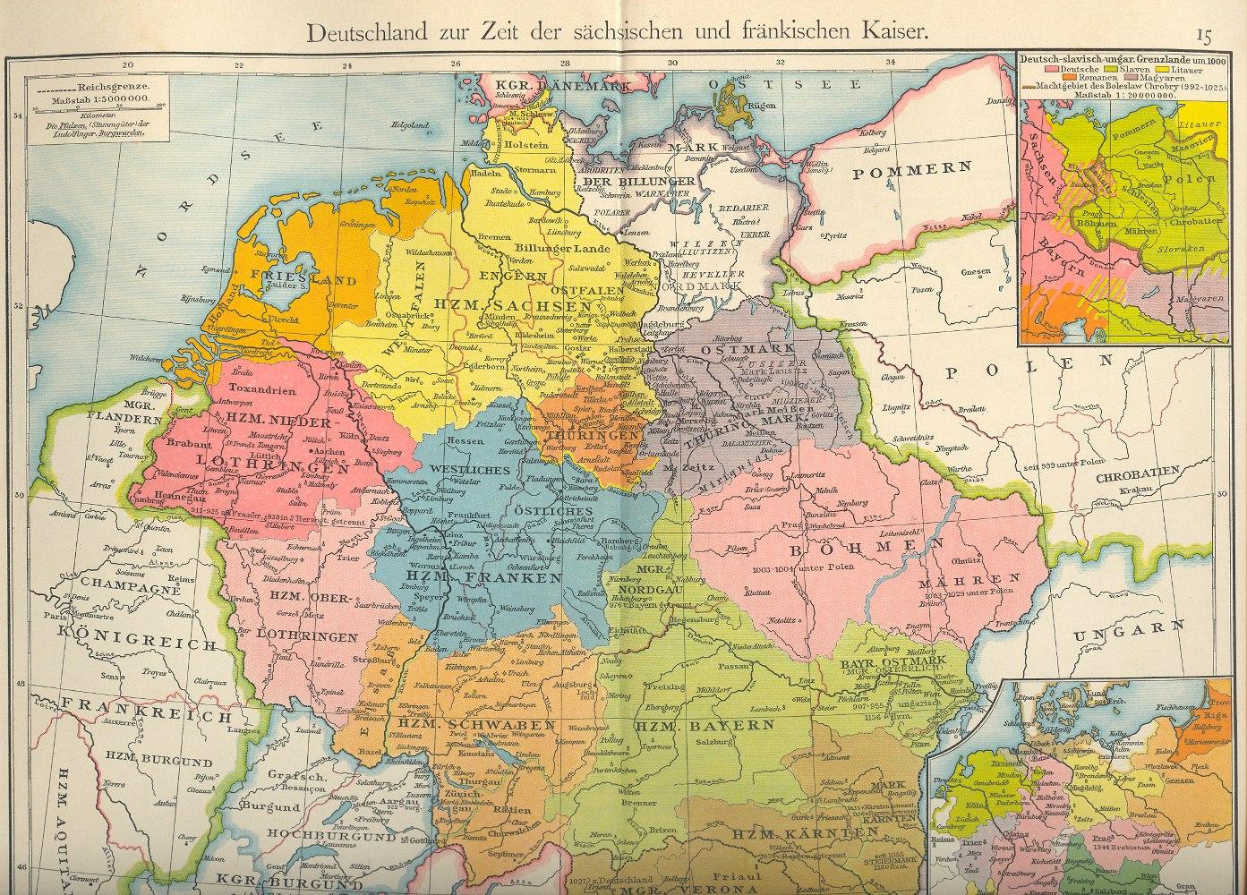 deutschland 1600 karte Historische Landkarten