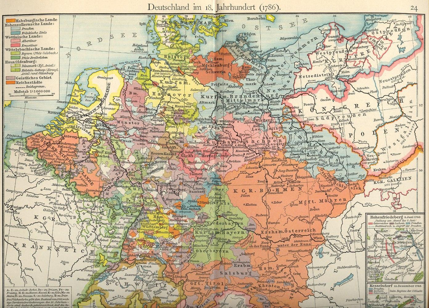 landkarte deutschland 1700 Historische Landkarten