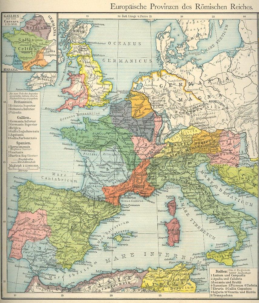 Karte Von Europa 1914.Historische Landkarten