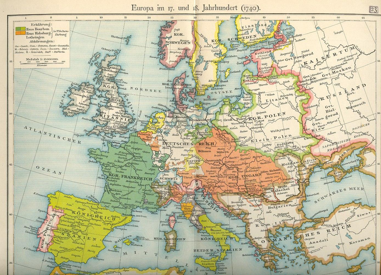 Europakarte Nordeuropa Karte.Historische Landkarten